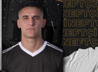 """""""Neftçi"""" heyətini yeni futbolçu ilə gücləndirib."""